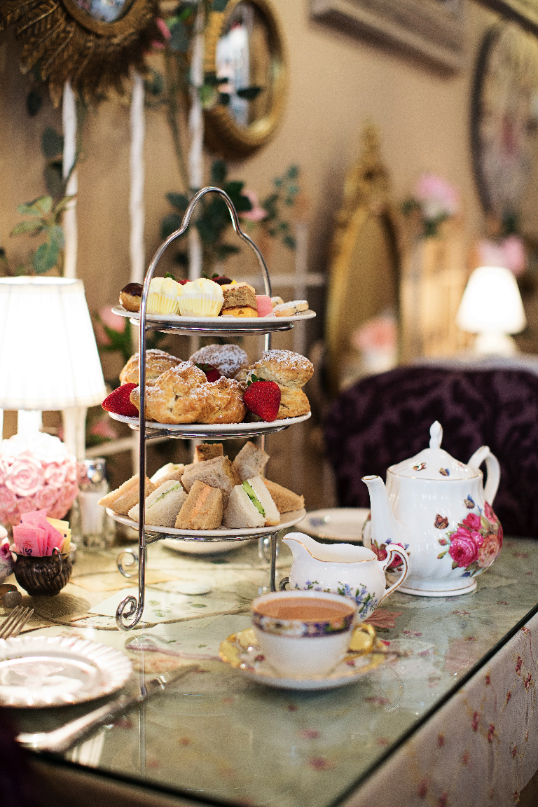 About Us English Rose Tea Room