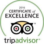 Carefree Tea Cert of Excellence 2016 Trip Advisor