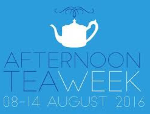 August Tea week in the UK here in AZ